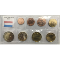 LUXEMBOURG 2017 - EURO COIN SET