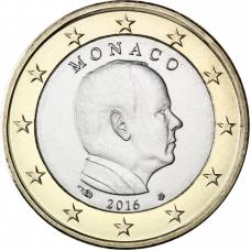 MONACO 2016 - 1 EURO PRINCE ALBERT II