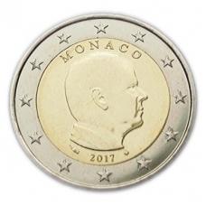 MONACO 2017 - 2 EURO PRINCE ALBERT II