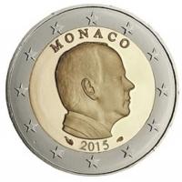 MONACO 2015 - 2 EURO