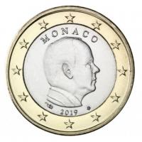 MONACO 2019 - 1 EURO PRINCE ALBERT II