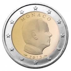 MONACO 2012 - 2 EURO PRINCE ALBERT II