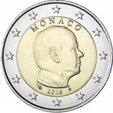MONACO 2016 - 2 EURO PRINCE ALBERT II