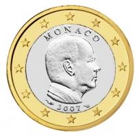MONACO 2007 - 1 EURO - PRINCE ALBERT II