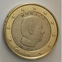 MONACO 2021 - 1 EURO PRINCE ALBERT II