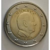 MONACO 2021 - 2 EURO PRINCE ALBERT II