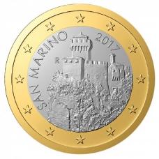 SAN MARINO 2017 - 1 EURO