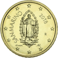 SAN MARINO 2018 - 50 CENT