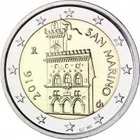 SAN MARINO 2016 - 2 EURO