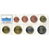 SAN MARINO 2009 - EURO SET