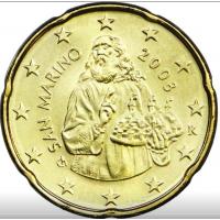 SAN MARINO 2008 - 20 CENT