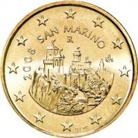 SAN MARINO 2008 - 50 CENT UNC