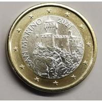 SAN MARINO 2021 - 1 EURO