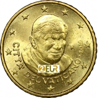 VATICAN 2010 - 50 CENT