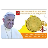 VATICAN 2017 - 50 CENT COIN CARD №8