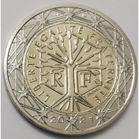FRANCE 2021 - 2 euro UNC