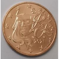 FRANCE 2021 - 5cent UNC
