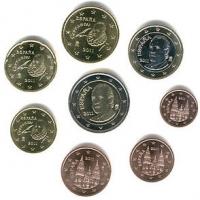 Euro Coins UNC