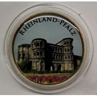 GERMANY 2 EURO 2017 - RHEINLAND-PFALZ: PORTA NIGRA - COLOR