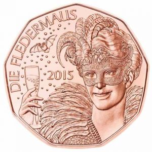 AUSTRIA 5 EURO 2015 - THE BAT