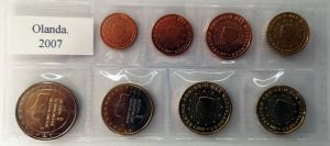 NETHERLANDS 2007 - EURO LOS SET