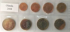 NETHERLANDS 2008 - EURO LOS SET