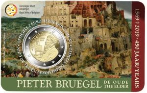 BELGIUM 2 EURO 2019 - 450 YEARS SINCE THE EATH OF PETER BRUEGELTHE ELDER (HOLLAND VERSION)