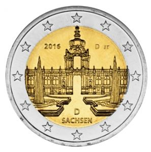 GERMANY 2 EURO 2016 - DRESDNER ZWINGER - D - MUNICH