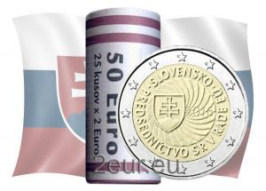 SLOVAKIA 2 EURO 2016 - SLOVAK PRESIDENCY OF THE COUNCIL OF THE EU - ROLL
