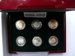 LUXEMBOURG 2 EURO 2009-2012 PROOF