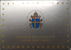 VATICAN 2003 - EURO COINS SET - PROOF