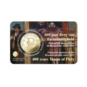 BELGIUM 2.5 EURO 2018 -400 YEARS OF BERG VAN BARMHARTIGHEID (HOLLAND)