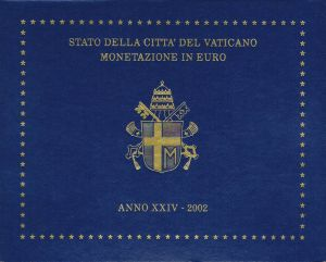 VATICAN 2002 - EURO COIN SET