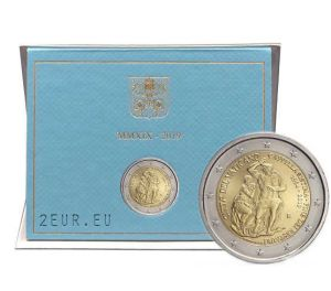 VATICAN 2 EURO 2019/2 - 25TH ANNIVERSARY OF THE RESTORATION OF THE SISTINE CHAPEL