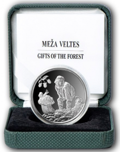 LATVIA 5 EURO 2019 - GIFTS OF THE FOREST
