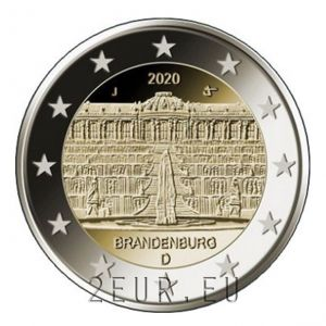 GERMANY 2 EURO 2020 - PALACE IN POTSDAM