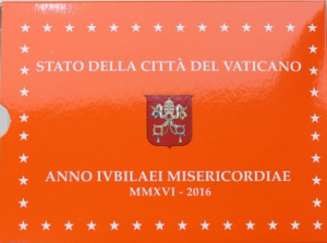 VATICAN 2016 - EURO COINS SET - PROOF