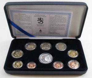FINLAND 2004 - EURO COIN SET PROOF