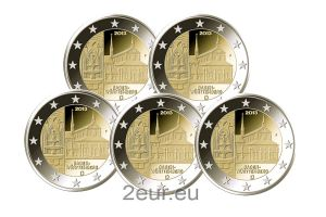 GERMANY 2 EURO 2013 - BADEN - WURTTEMBERG (FULL SET)