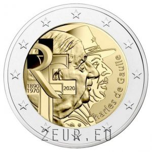 FRANCE 2 EURO 2020 - 50TH ANNIVERSARY OF THE DEATH OF CHARLES DE GAULLE