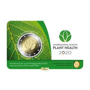 BELGIUM 2 EURO 2020 - INTERNATIONAL YEAR OF PLANT HEALTH - NL