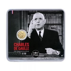 FRANCE 2 EURO 2020 - 50TH ANNIVERSARY OF THE DEATH OF CHARLES DE GAULLE -C/C