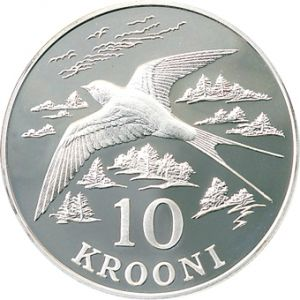 ESTONIA 1992 - 10 KROON - MONETARY REFORM