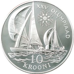 ESTONIA 1992 - 10 KROON - XXV OLYMPIAD