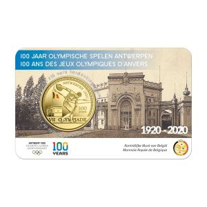 BELGIUM 2.5 EURO 2020 - 100 YEARS OF THE ANTWERP OLYMPIC GAMES -COLOR