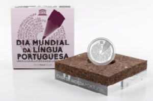PORTUGAL 5 EURO 2020 - UNESCO WORLD PORTUGUESE LANGUAGE DAY -SILVER