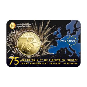 BELGIUM 2.5 EURO 2020-2 - 75 YEARS OF PEACE AND FREEDOM IN EUROPE -FR + NL
