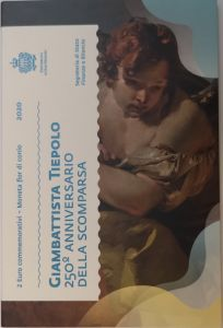 SAN MARINO 2 EURO 2020 - 250TH ANNIVERSARY OF THE DEATH OF GIOVANNI BATTISTA TIEPOLO