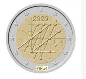 FINLAND 2 EURO 2020 - 100TH ANNIVERSARY OF THE TURKU UNIVERSITY