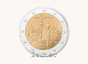 LITHUANIA 2 EURO 2020 - HILL OF CROSSES